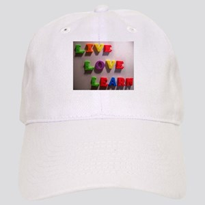 Live Love Learn Cap