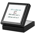 Blank Slate Keepsake Box