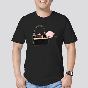 Portable Point of View Men's Fitted T-Shirt (dark)