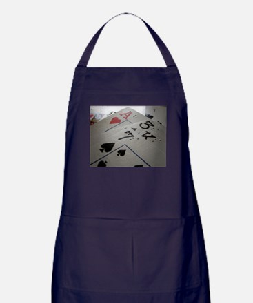 Braille Playing Cards Apron (dark)