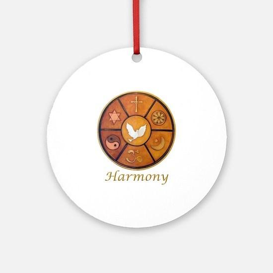 "Interfaith ""Harmony"" - Ornament (Round)"