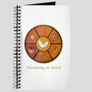 """""""Harmony in Faith"""" Journal"""