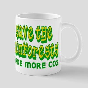 Save The Rainforests CO2 Mug