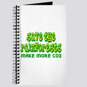 Save The Rainforests CO2 Journal