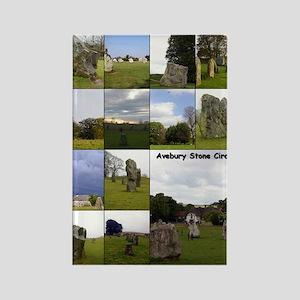 Avebury year Rectangle Magnet