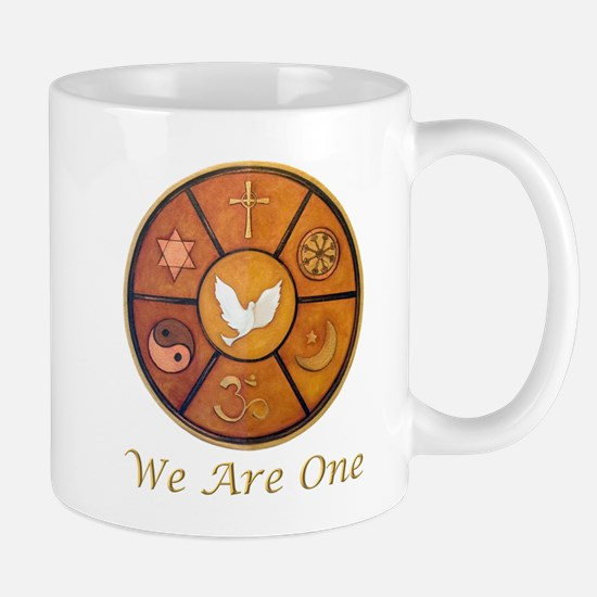 "Interfaith ""We Are One"" Mug"