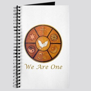 """Interfaith """"We Are One"""" Journal"""