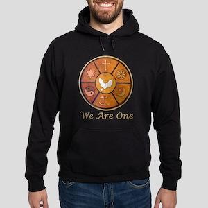 "Interfaith ""We Are One"" Hoodie (dark)"