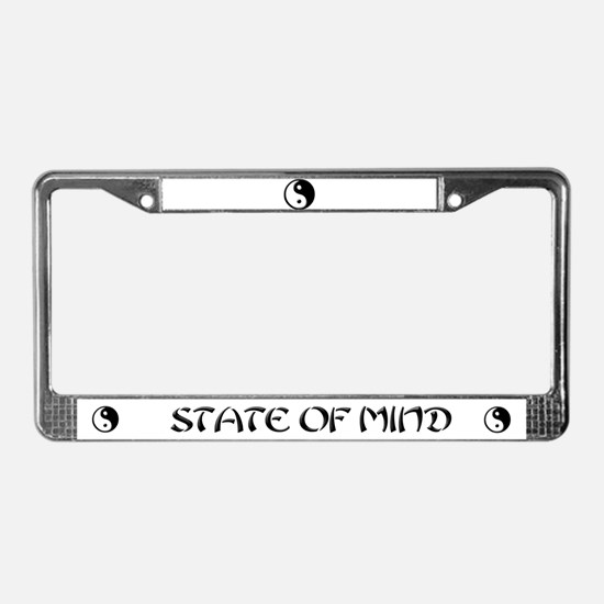 buddhist buddhism License Plate Frame