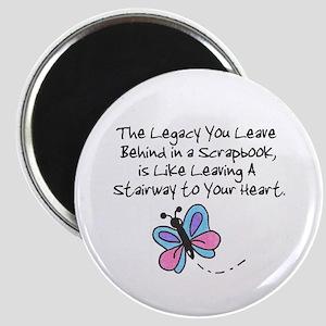 Scrapbooking Legacy Magnet