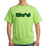 Weed Green T-Shirt