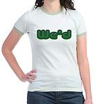 Weed Jr. Ringer T-Shirt