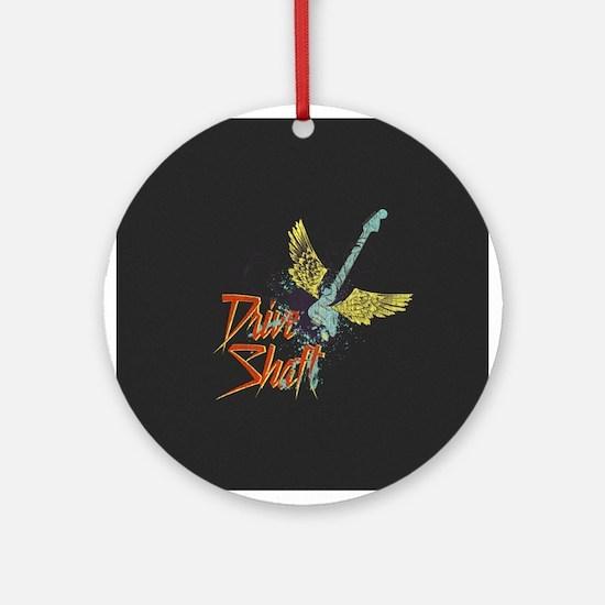 Rock Drive Shaft Ornament (Round)