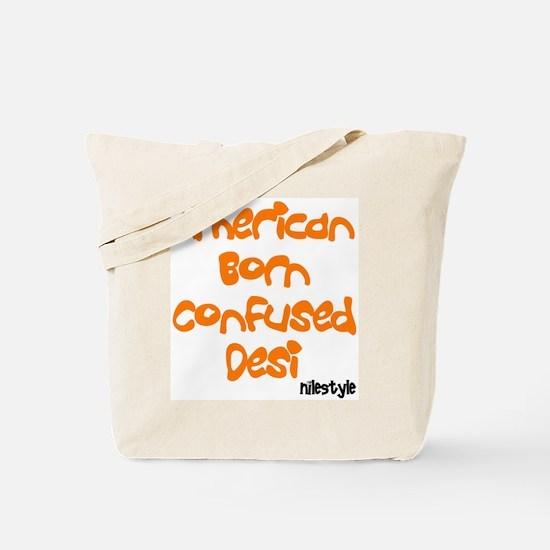 American Born Confused Desi Tote Bag