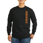 Chocoholic Long Sleeve Dark T-Shirt