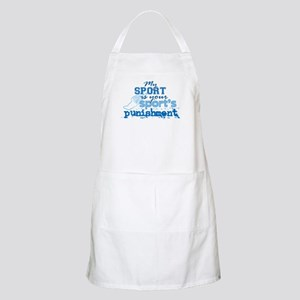 Sport Punishment Blue Light Apron