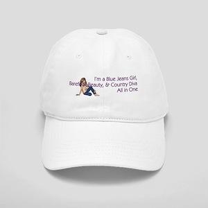 Blue Jeans Girl Cap