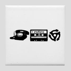 Retro Tech Tile Coaster