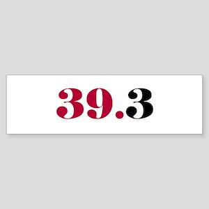 39.3 Bumper Sticker