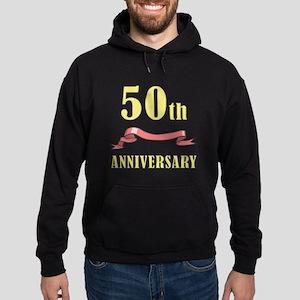 50th Wedding Anniversary Hoodie (dark)