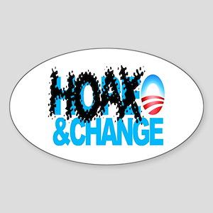 Extreme Anti Obama Oval Sticker