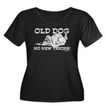 Old Dog No New Tricks Women's Plus Size Scoop Neck