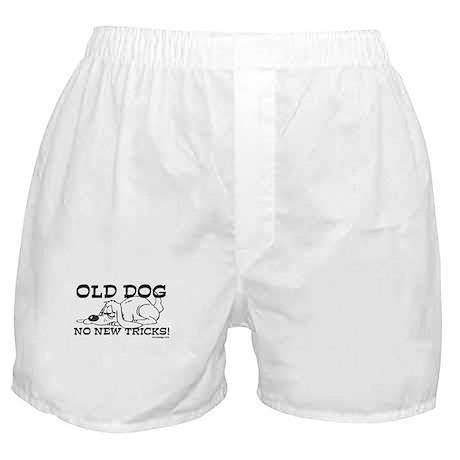 Old Dog No New Tricks Boxer Shorts