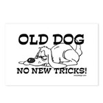 Old Dog No New Tricks Postcards (Package of 8)