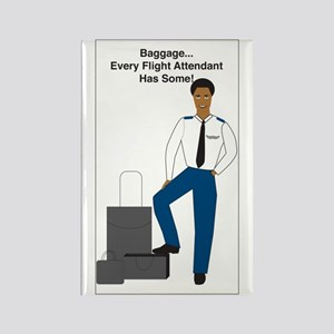 AA Baggage Man Rectangle Magnet