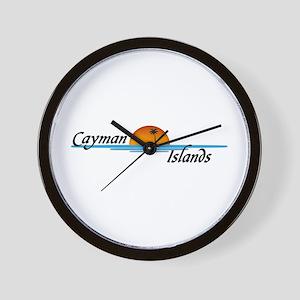 Cayman Islands Sunset Wall Clock