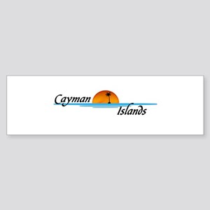 Cayman Islands Sunset Bumper Sticker