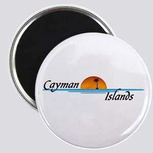 Cayman Islands Sunset Magnet