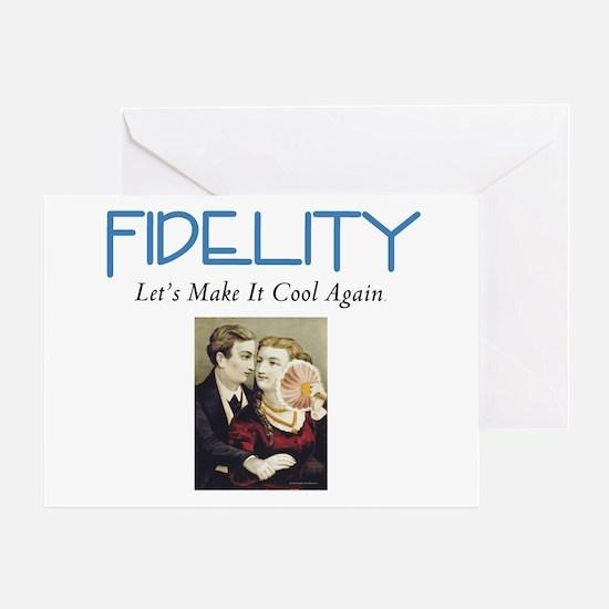 Fidelity Greeting Card