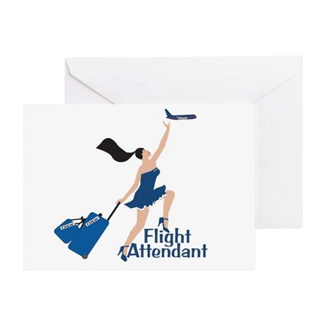 Catching Her Flight FA Greeting Card