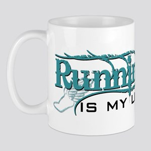 Running is my life bc Mug