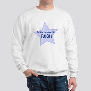 Home Schoolers Rock Sweatshirt