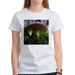 Red Mushroom in Forest Women's T-Shirt