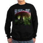 Red Mushroom in Forest Sweatshirt (dark)