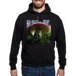 Red Mushroom in Forest Hoodie (dark)