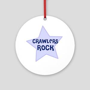 Crawlers Rock Ornament (Round)