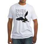 Raven Logo Fitted T-Shirt