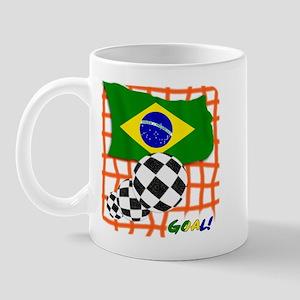 Goal Brazil! Mug