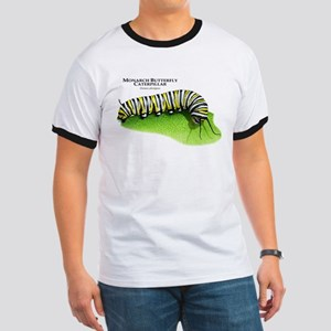 Monarch Butterfly Caterpillar Ringer T