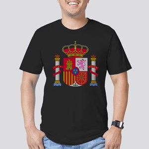 Spain Men's Fitted T-Shirt (dark)