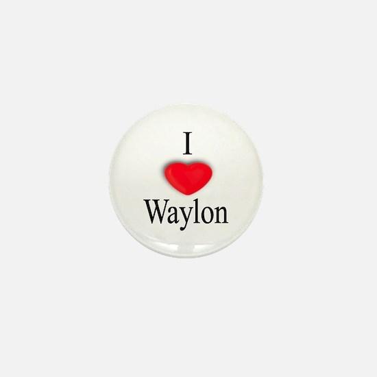 Waylon Mini Button