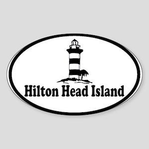 Hilton Head Island SC - Lighthouse Design Sticker
