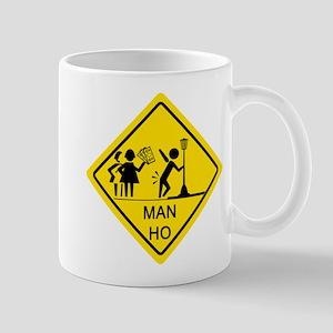 Man Ho Yield Sign Mug