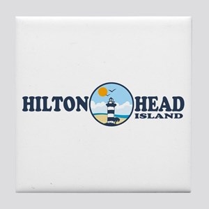 Hilton Head Island SC Tile Coaster