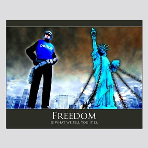 Freedom Small Poster