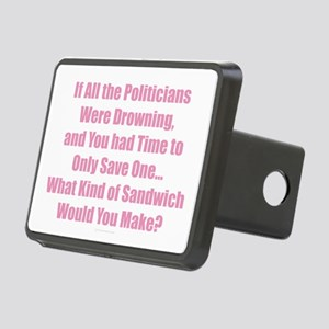Sandwich Politicians Rectangular Hitch Cover